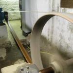 Generator mit Treibriemen